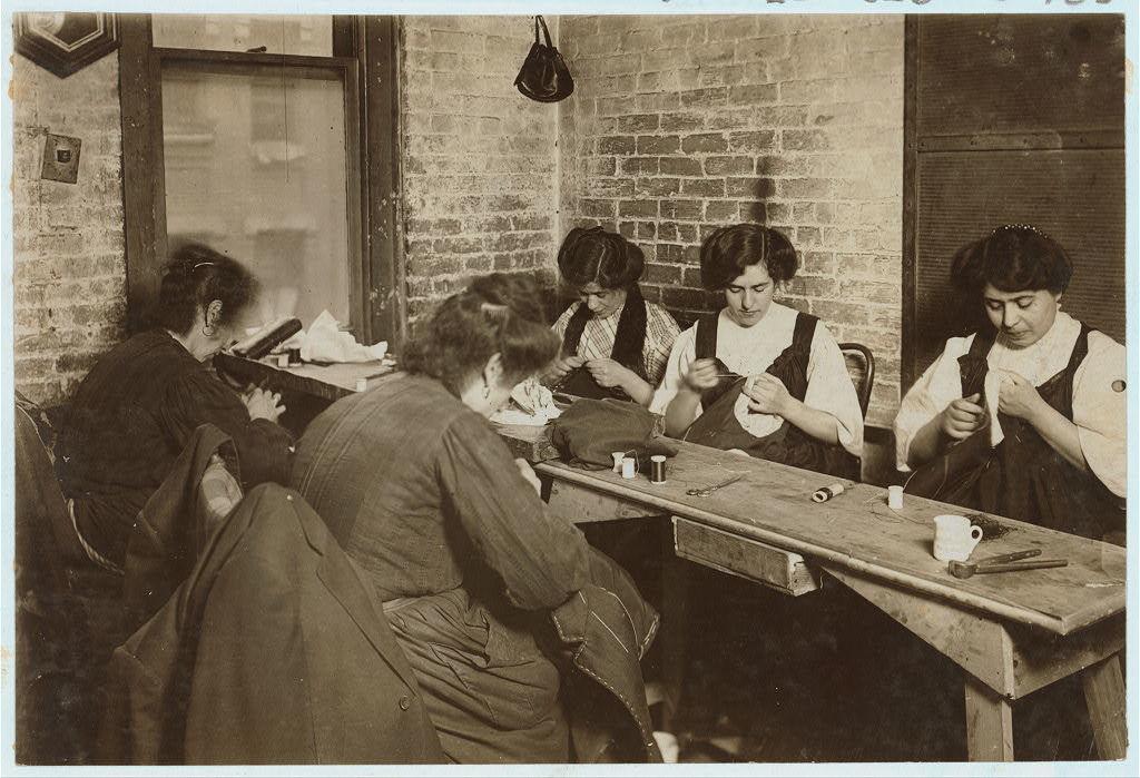 Sweatshop of Mr. Goldstein 30 Suffolk St. Witness Mrs. L. Hosford.  Location: New York, New York (State)