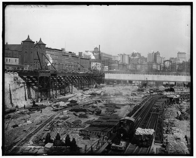 The Big Pennsylvania hole (for station), N.Y.