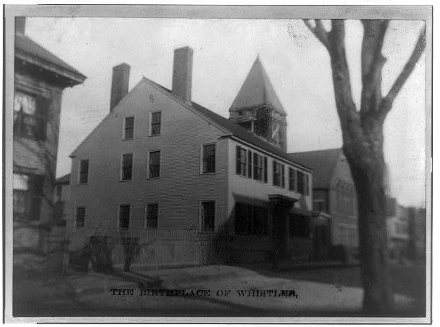 The birthplace of Whistler, Lowell, Mass.