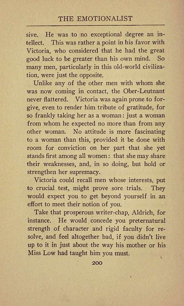 The emotionalist : the romance of an awakening to temperament