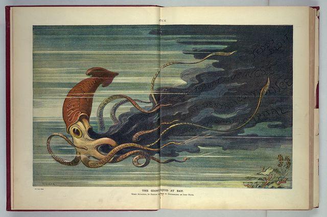 The giant squid at bay / Keppler.