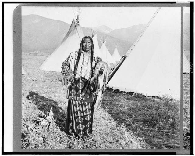 The great chief Charlot, Flathead Reservation
