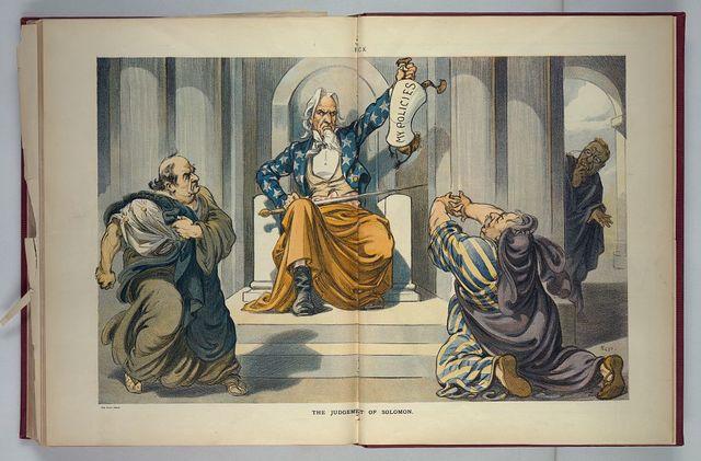 The judgement of Solomon / Kep.