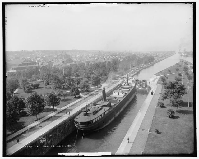 The Locks, S.S. Marie, Mich.