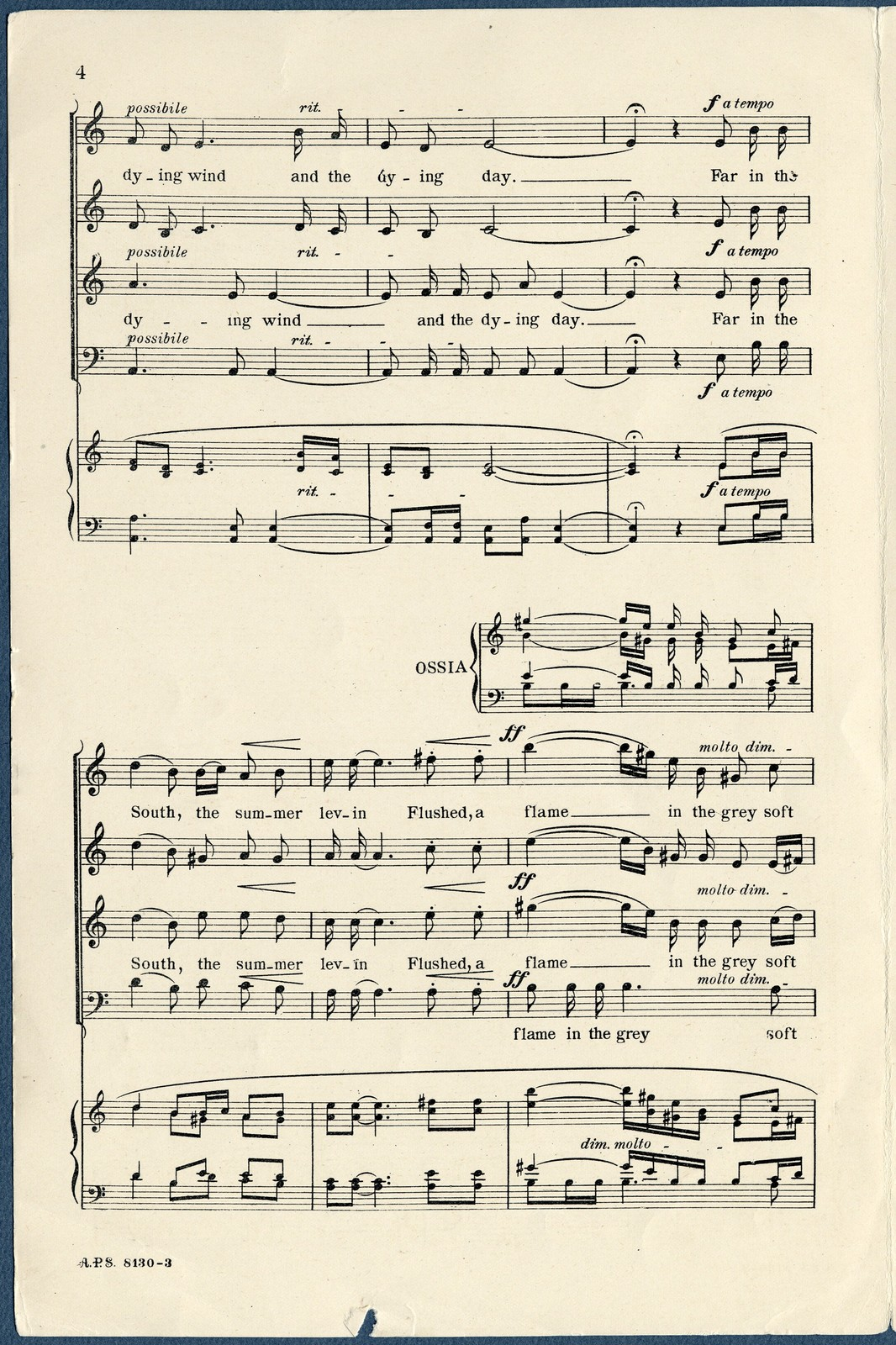 The  wind and the day (a sunset on yarrow ) : op. 68, no. 2
