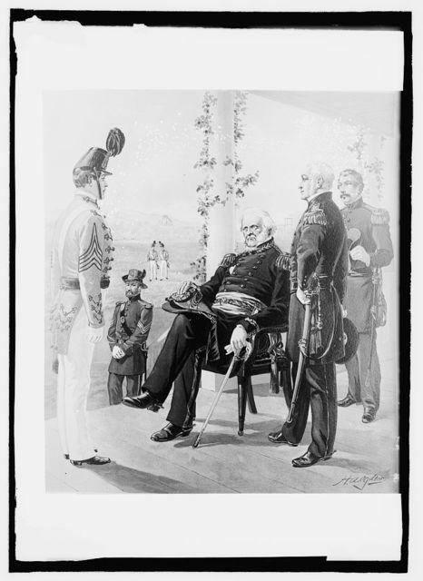 U.S. Army uniform, 1858-61, Gen'l in Chief, Eng., artillery, cadets
