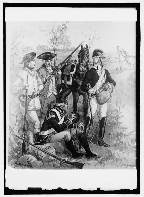 U.S. Army uniforms, 1774-75 Independent Company organization