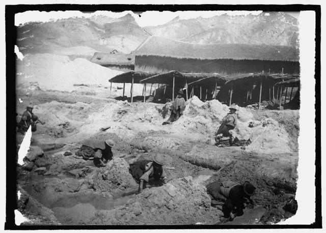 Washing copper ore at the mines in Corrocoro, Bolivia