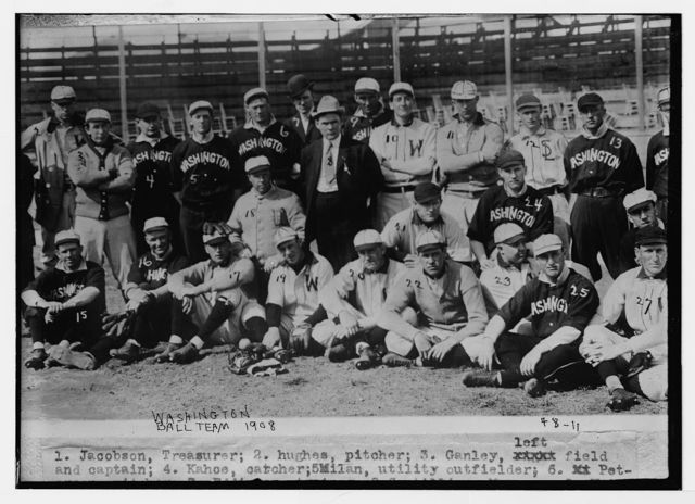 [Washington team, Washington AL (baseball)]