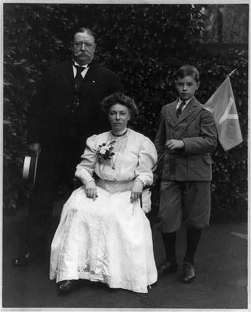 William Howard Taft and family
