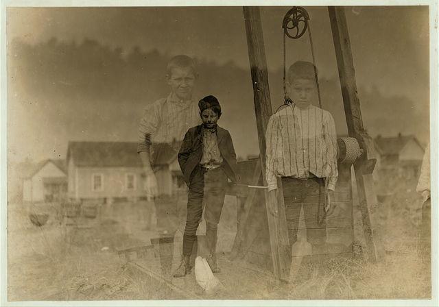 Willie Lee, 24 Ozark Mill, Gastonia, N.C. 10 years old. Been in mill 2 months. Doffer.  Location: Gastonia, North Carolina.