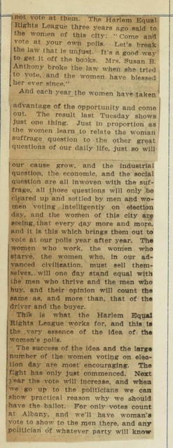 Women Who Want the Ballot Give Their Reasons; page 3