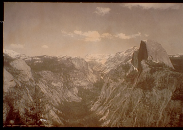 Yosemite Valley from Glacier Point, California