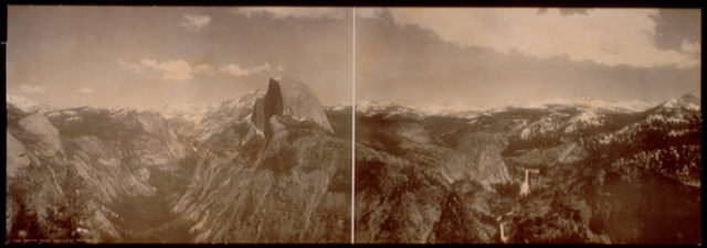 Yosemite Valley from Glacier Point, California