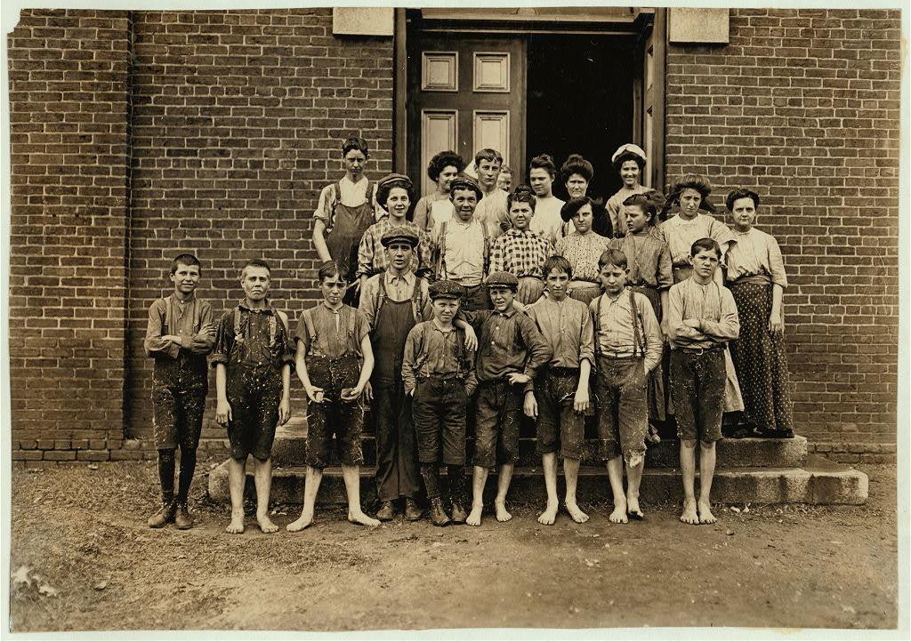 All workers in Enterprize [sic?] Mfg. Co., Augusta. Ga.  Location: Augusta, Georgia.