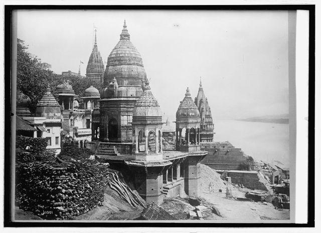 Asia. India, Calcutta burning Ghat