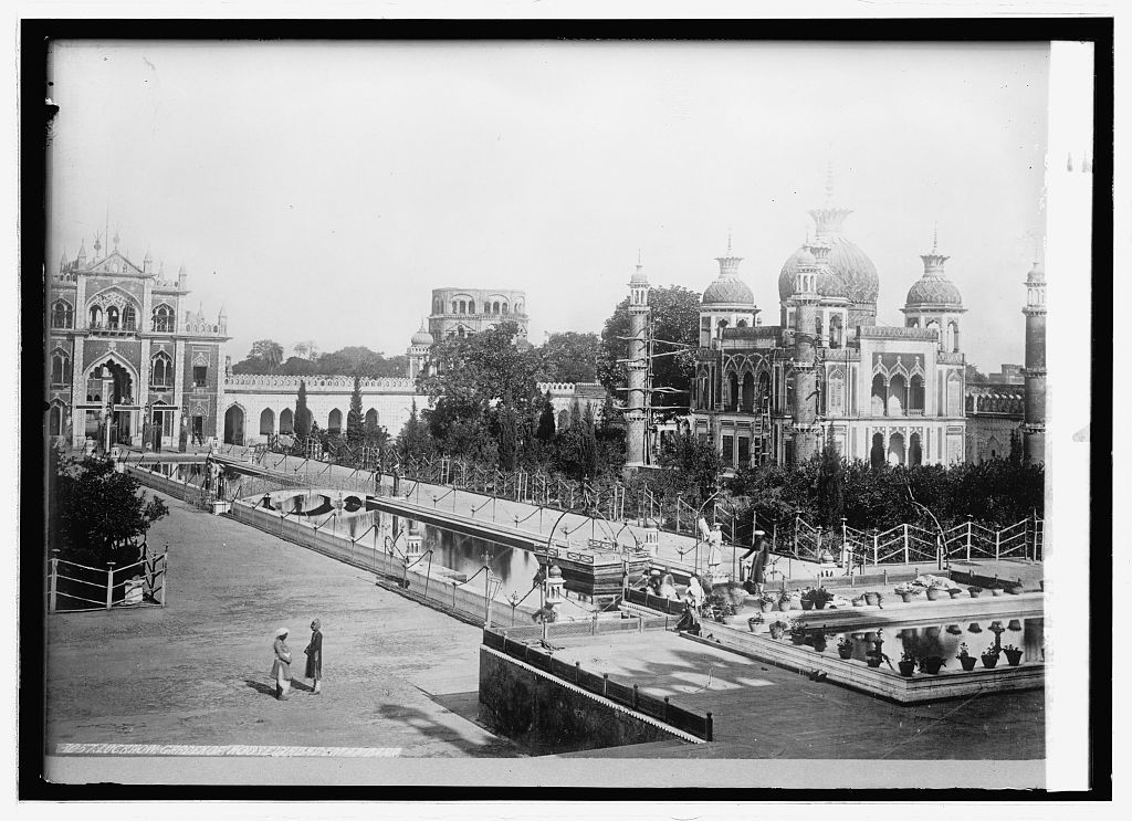 Asia. India, Lucknow. Garden of Moosa bagh, Emeambad[?]