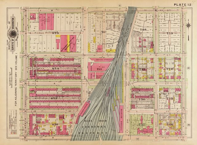 Baist's real estate atlas of surveys of Washington, District of Columbia : complete in four volumes /