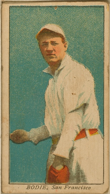 [Bodie, San Francisco Team, baseball card portrait]