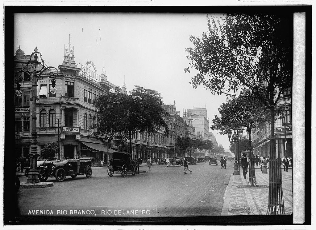 Brazil. Ave. Rio Branco, Rio de Janeiro