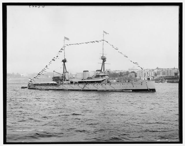 British cruiser Inflexible