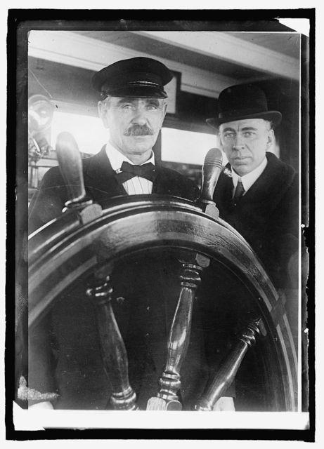 Capt. Chas. F. Kemp, U.S.S. Calvin Austin