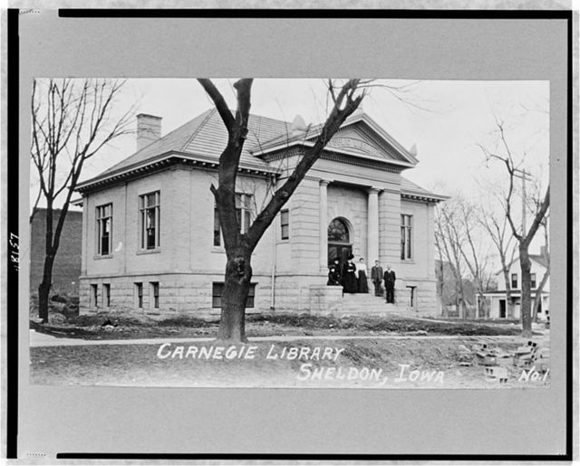 Carnegie Library, Sheldon, Iowa