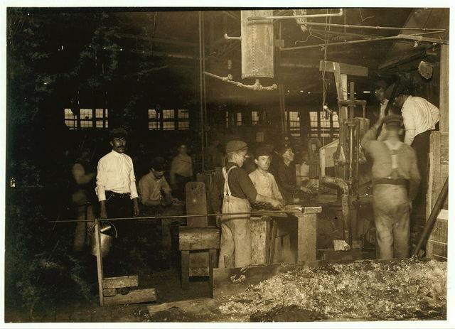 Cumberland Glass Works, Bridgeton, N.J.  Location: Bridgeton, New Jersey.