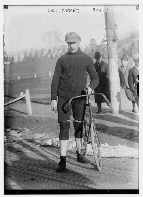 Cyclist Chas. Parent