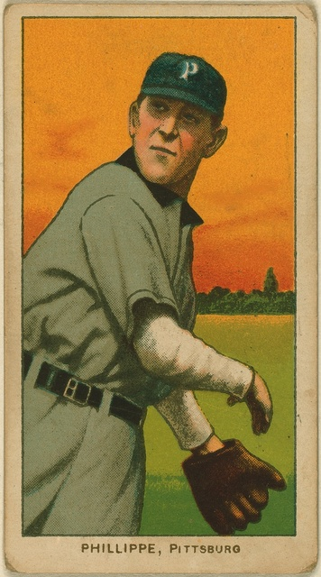 [Deacon Phillippe, Pittsburgh Pirates, baseball card portrait]