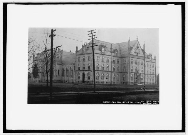 Dominican House of Studies, Catholic Univ., Bookland, [D.C.]
