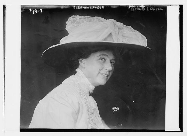 Eleanor Lawson, White, N.Y. / White