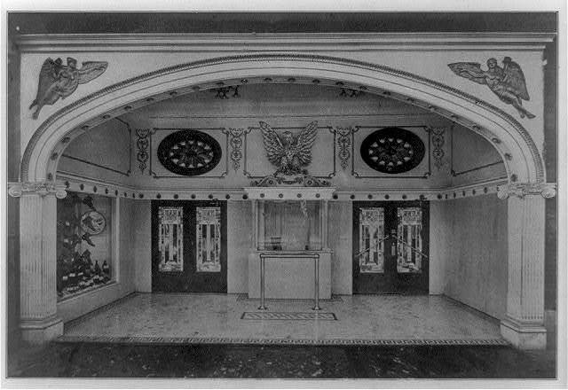 [Entrances of moving picture theaters, (Chicago?), no. 11, Normal Theatre]