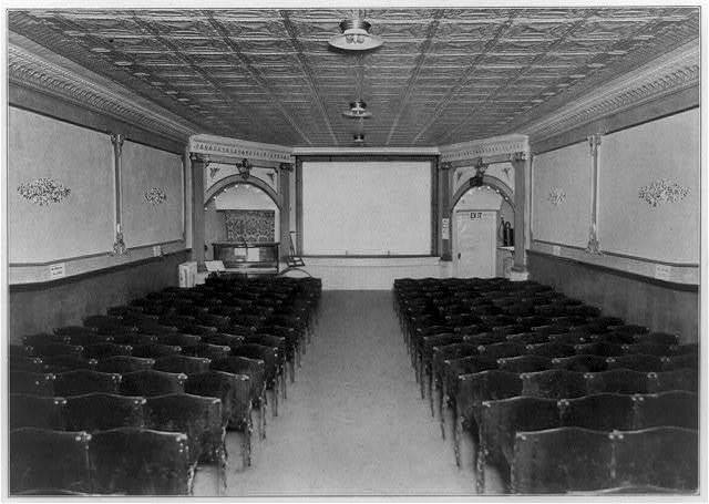 [Entrances of moving picture theaters, no. 10, Normal Theatre, 6850 Halstead Street, Chicago--interior]