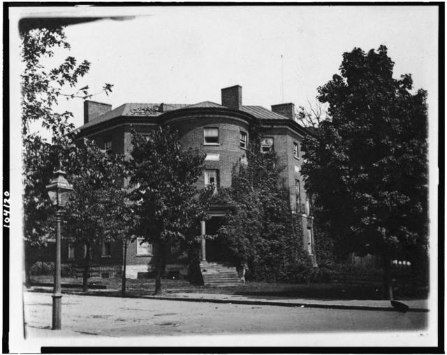 [Exterior of the Octagon House, Washington, D.C.]