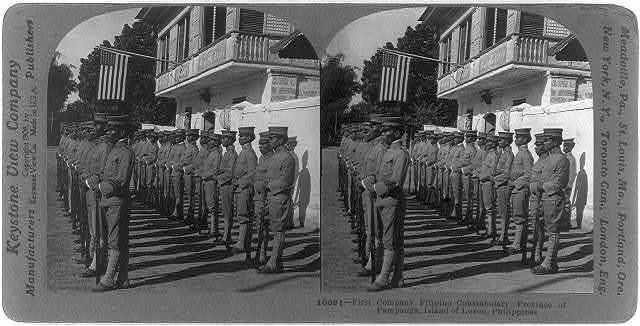 First Company Filipino Constabulary, Province of Pampanga, Island of Luzon, Philippines