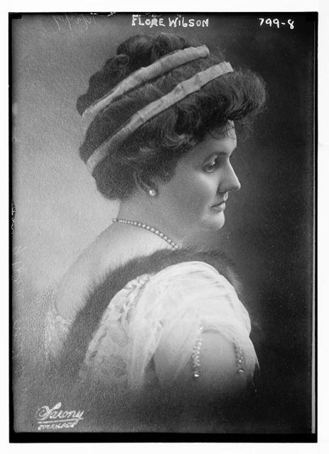 Flore Wilson, Sarony, N.Y. / Sarony