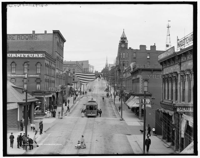 Front Street, Marquette, Mich.