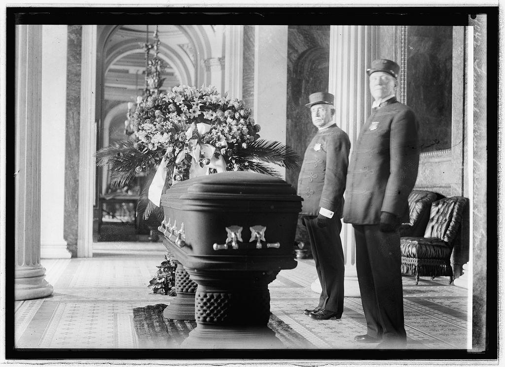 Funeral Sen. Bacon of Ga.