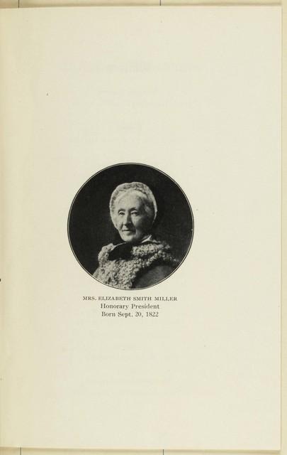 Geneva Political Equality Club Record, Season of 1908-1909