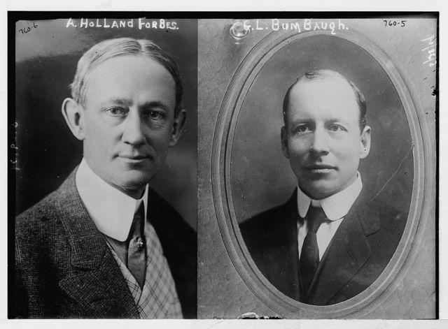 G.L. Bumbaugh, cameo portr.