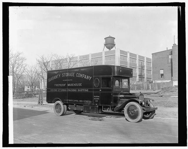 Guaranty Storage Co. truck