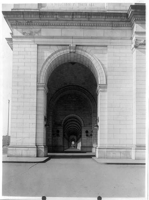 Hallway through entrances to Union Station, [Washington, D.C.]