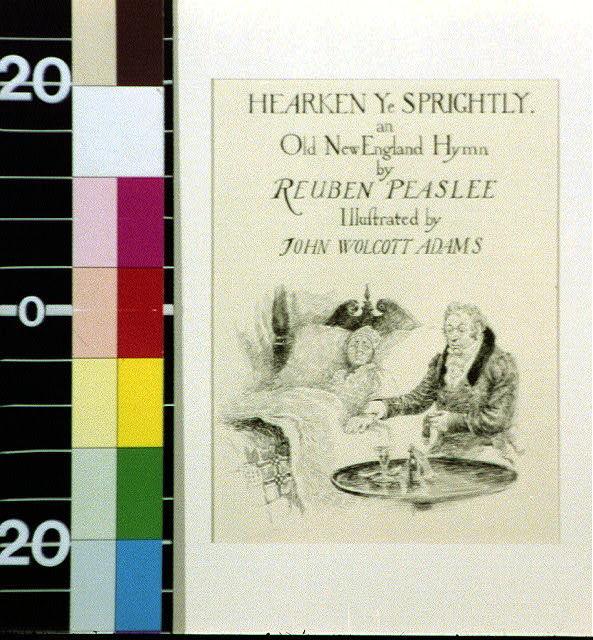 Hearken ye sprightly : an old New England hymn