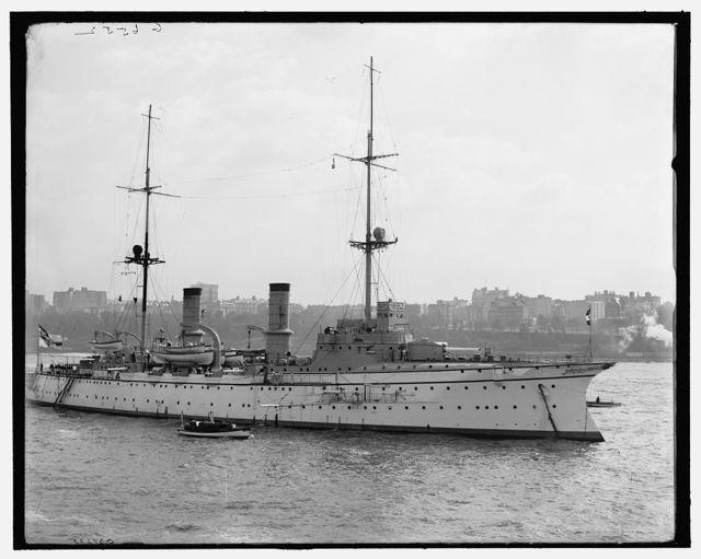 [Hertha, German cruiser]