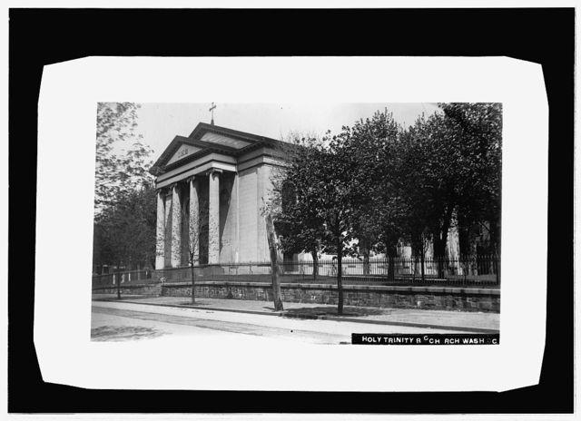 Holy Trinity Catholic Church, Georgetown, Wash., [D.]C.