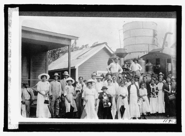 Honduras, La Ceiba, R.R. Station