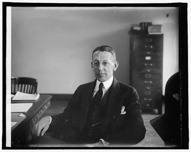 Howard Figg, Food Administrator