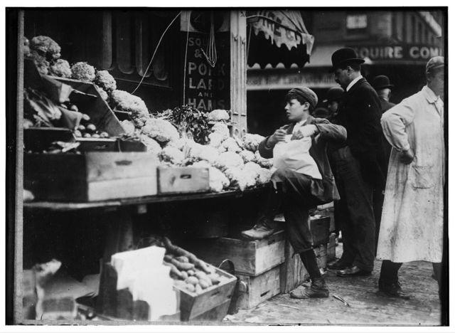 In business for himself. Boston 1915 Exhibit.  Location: Boston, Massachusetts.