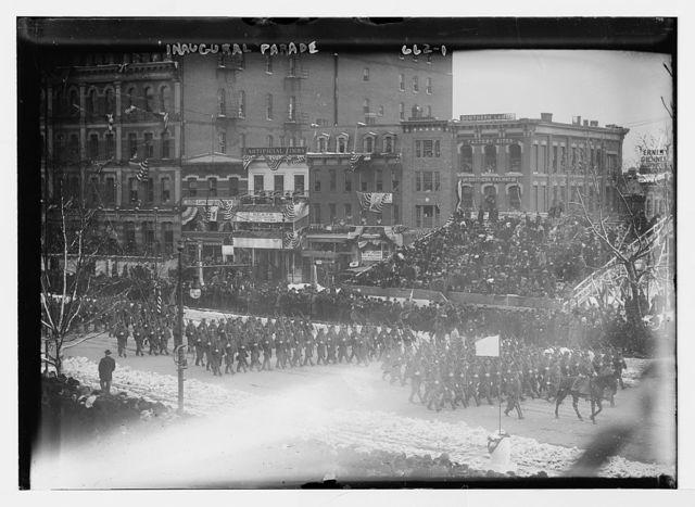 Inaugural parade for Taft, Penn. Ave., Washington, D.C.